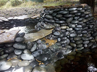 Triple fountain