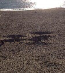 Spirals in the Sand